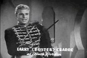 FLASH GORDON CONQUERS THE UNIVERSE starring Buster Crabbe