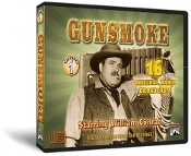Gunsmoke Classic Radio Shows - Vol. 1 CD Set