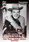 BLACK SADDLE - Complete Series - starring Peter Breck